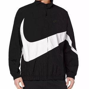 Nike Sportswear Swoosh Jacket Loose Fit Black - XL